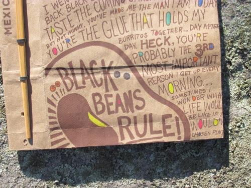 Bean bag book detail