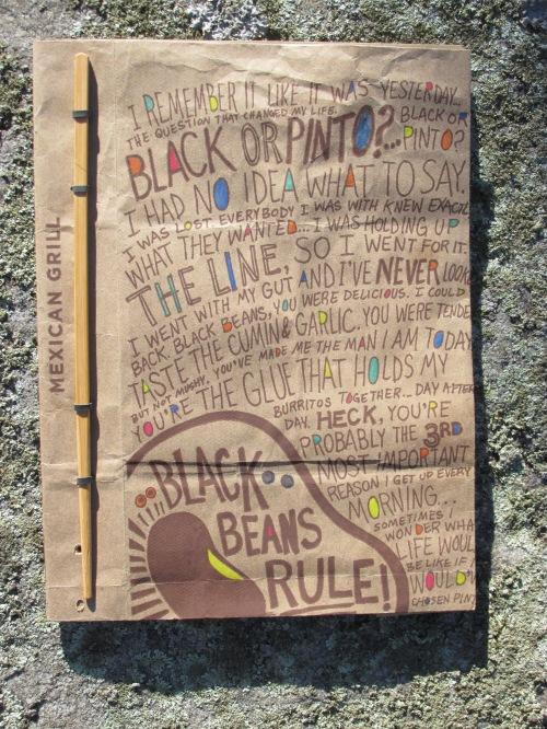 Bean bag book